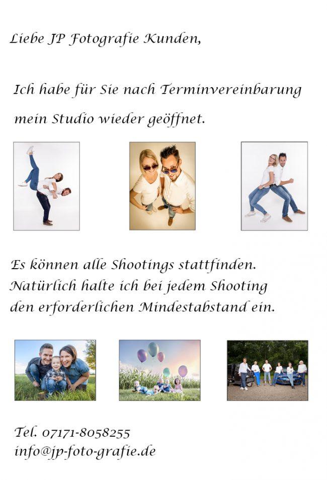 Jennifer-Pauls Fotografie Corona Öffnungszeiten Schwäbisch Gmünd Herlikofen